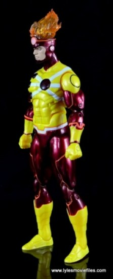 DC Icons Firestorm figure review - left side