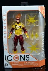 DC Icons Firestorm figure review - package front