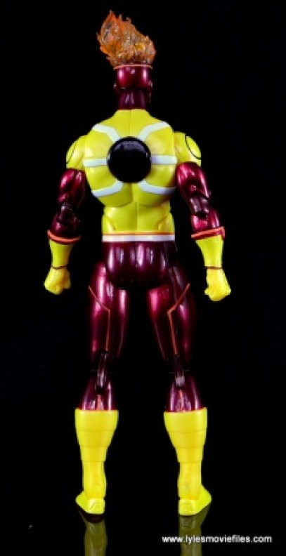 DC Icons Firestorm figure review - rear