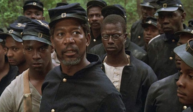 Glory - Denzel Washington, Morgan Freeman and Andre Braugher