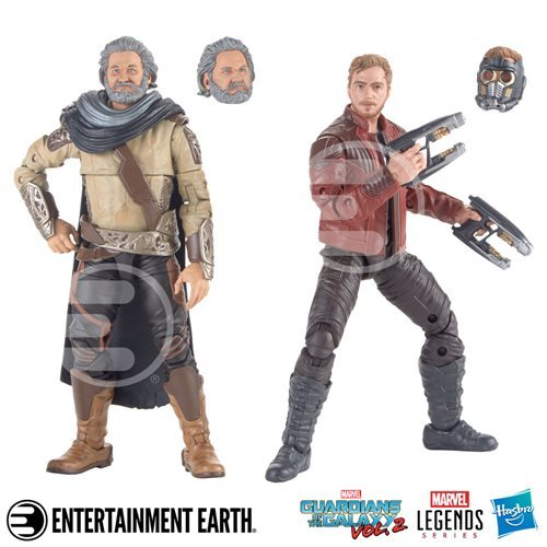 Guardians of the Galaxy vol. 2 - Ego and Star-Lord