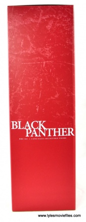Hot Toys Black Panther figure review - inner package side