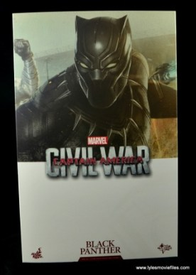 Hot Toys Black Panther figure review - package front