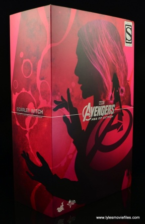 Hot Toys Scarlet Witch figure review - package front