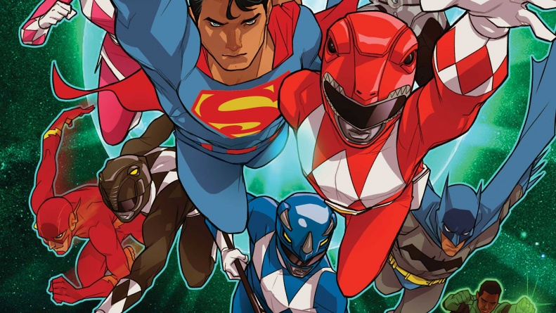 Justice League/ Power Rangers #2