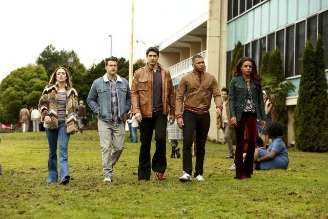 Legends of Tomorrow Raiders of the Lost Art - Sara, Ray, Nate, Jax and Amaya