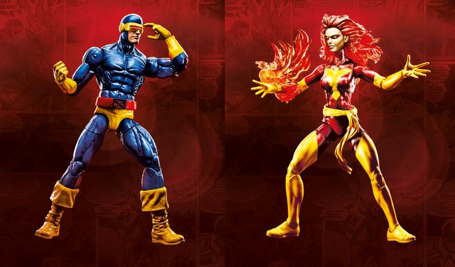 Marvel Legends Cyclops and Dark Phoenix two pack