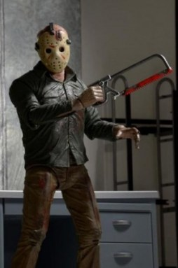 NECA Ultimate Jason figure - with hacksaw