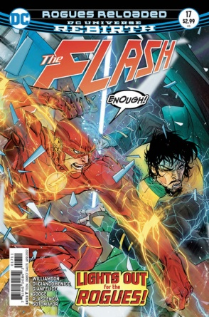 The Flash #17 cover