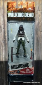 The Walking Dead Michonne figure review - front package