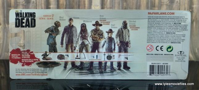 The Walking Dead Michonne figure review - package rear