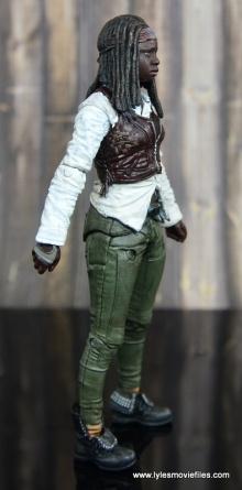 The Walking Dead Michonne figure review - right side