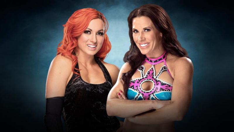 WWE Elimination Chamber 2017 - Becky Lynch vs Mickie James