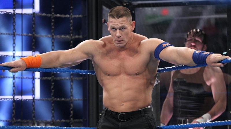 WWE Elimination Chamber 2017 - John Cena, Dean Ambrose