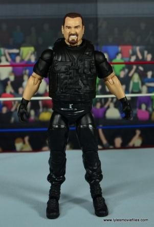 WWE Elite Big Boss Man figure review - front
