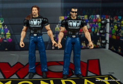 WWE Mattel The Outsiders Battle Pack figure review - straight