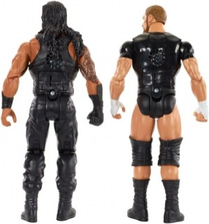 WWE Tough Talkers 2 - Roman Reigns and Triple H rear