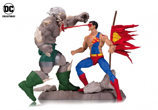 DC Icons Death of Superman set