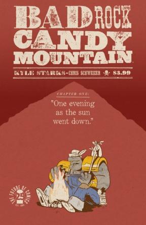 Badrock Candy Mountain Image Comics April Fools variant cover