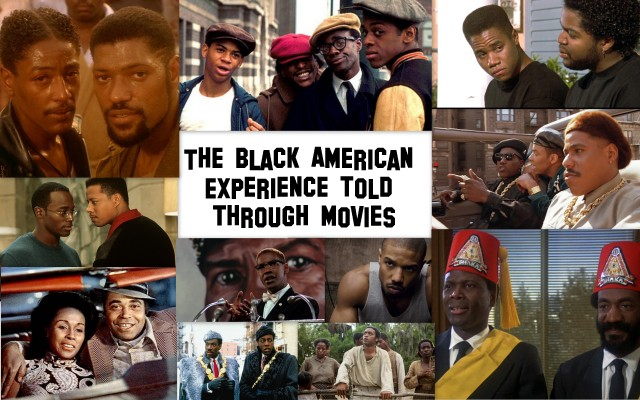 Black American experience in movies edited