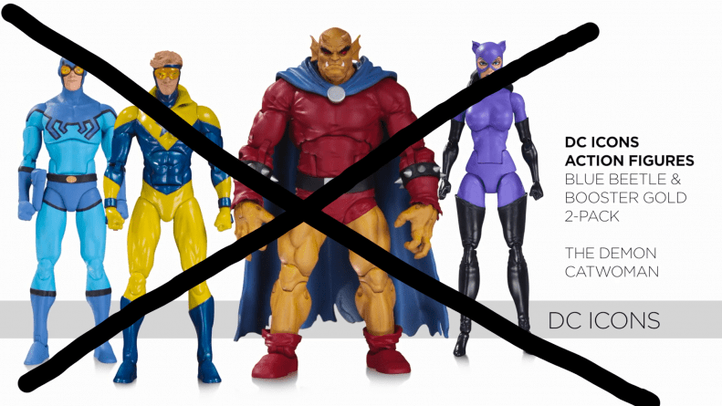 Cancelled DC Icons