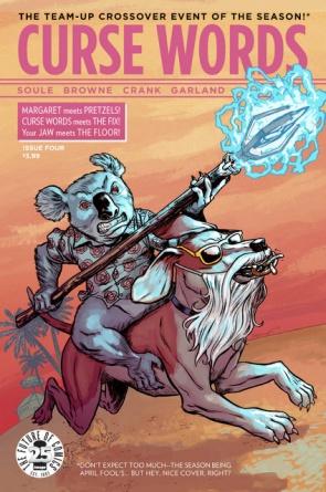 Curse Words Image Comics April Fools variant cover