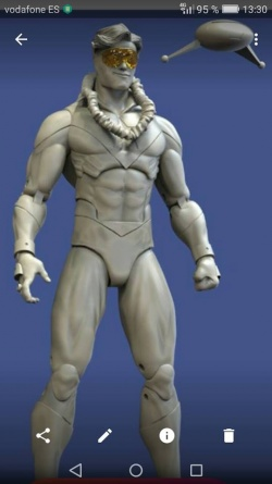 DC Icons Booster Gold prototype