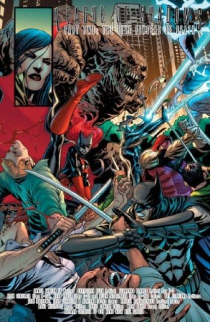 Detective Comics #952 interior art