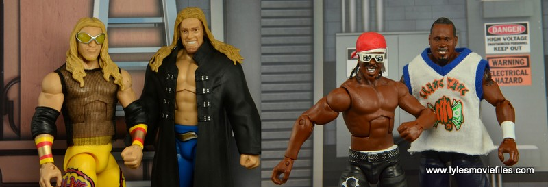 Edge and Christian vs Cryme Tyme