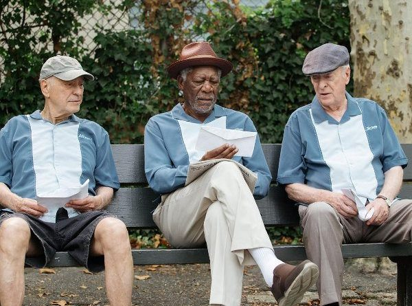 Going-In-Style Alan Arkin, Morgan Freeman and Michael Caine