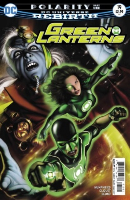 Green Lanterns #19 cover