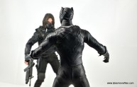 Hot Toys Black Panther figure review - face off with The Winter Soldier