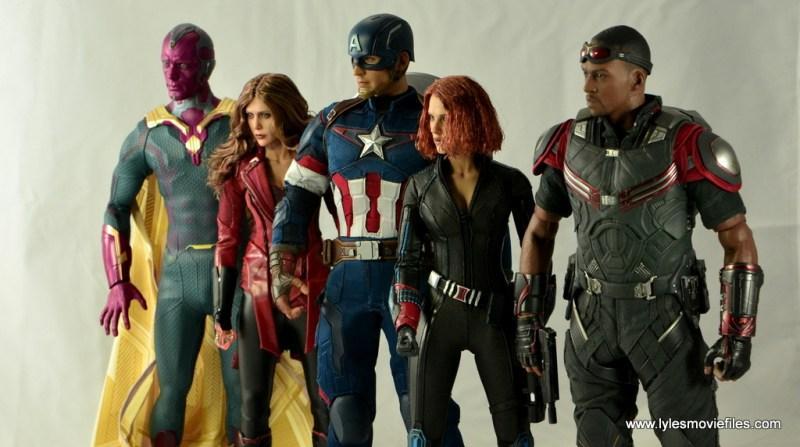 Hot Toys Captain America Civil War Falcon figure review -New Avengers