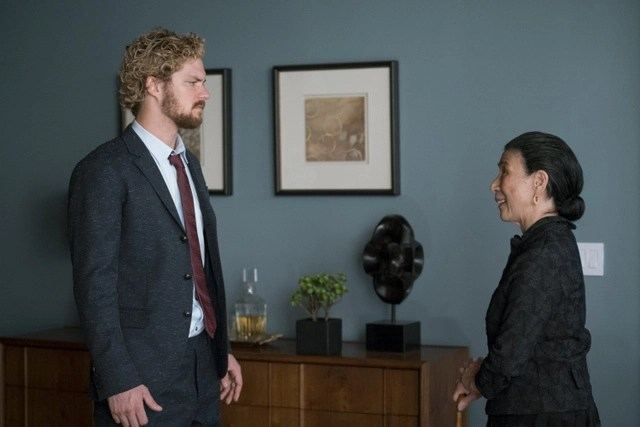 Iron Fist Felling Tree with Roots - Danny and Madame Gao