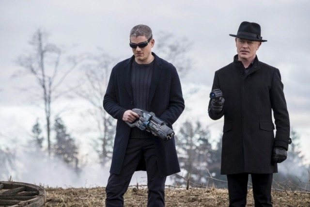 Legends of Tomorrow Fellowship of the Spear - Snart and Darhk