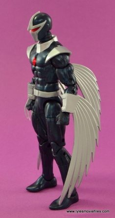 Marvel Legends Darkhawk figure review - left side