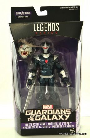 Marvel Legends Darkhawk figure review - package front