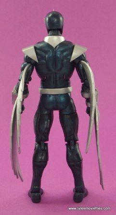 Marvel Legends Darkhawk figure review - rear side
