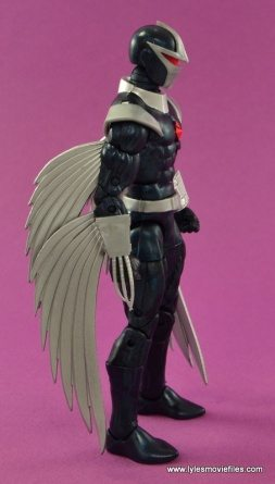 Marvel Legends Darkhawk figure review - right side