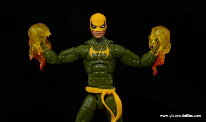 Marvel Legends Iron Fist figure review - getting chi on