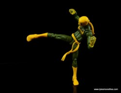 Marvel Legends Iron Fist figure review - side kick