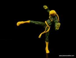 Marvel Legends Iron Fist figure review - side kick