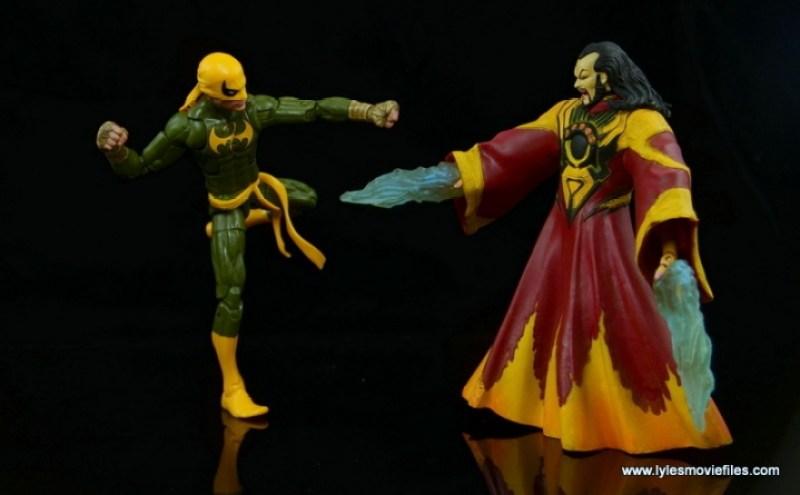 Marvel Legends Iron Fist figure review - vs The Mandarin