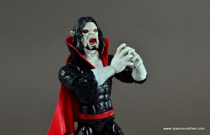 Marvel Legends Morbius figure review - main