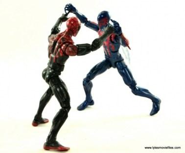Marvel Legends Spider-Man 2099 figure review - battling Superior Spider-Man