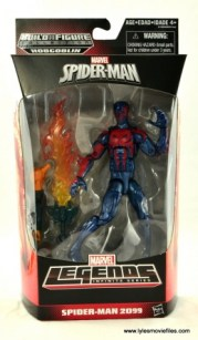 Marvel Legends Spider-Man 2099 figure review - front package