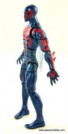 Marvel Legends Spider-Man 2099 figure review - left side
