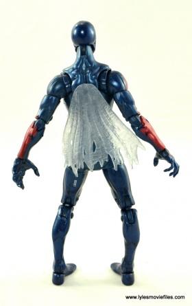 Marvel Legends Spider-Man 2099 figure review - rear