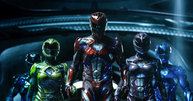 Power Rangers 2017 movie review - Power Rangers suited up