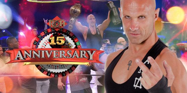 ROH 15th Anniversary - Daniels celebration